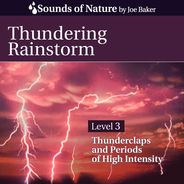 Nature Sounds by Joe Baker - Thundering Rainstorm